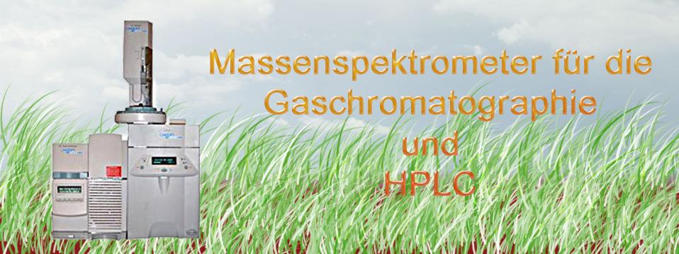 Massenspektrometer für GC und HPLC